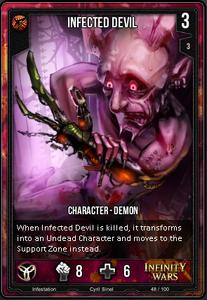 Infected Devil