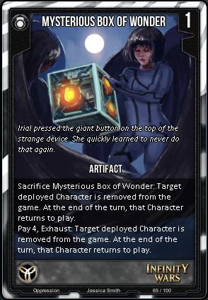 OPPRESSION- Mysterious Box Of Wonder