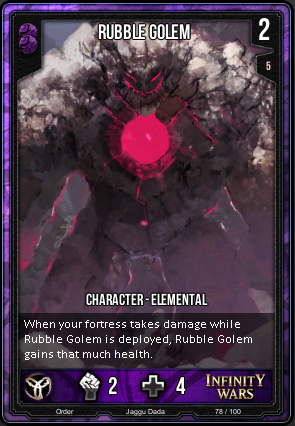 ORDER- Rubble Golem