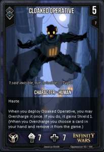 Cloaked Operative