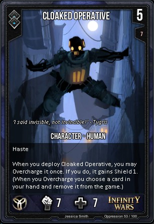 OPPRESSION- Cloaked Operative