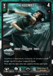 ASCENSION- Xi, Ascended