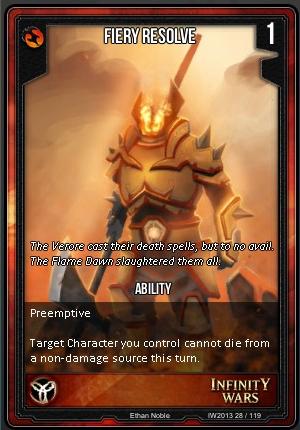 CORE- Fiery Resolve