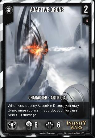 OPPRESSION- Adaptive Drone
