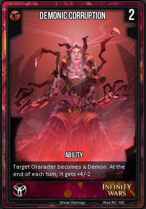 RISE- Demonic Corruption