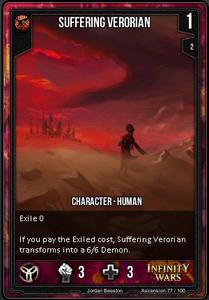 Suffering Verorian