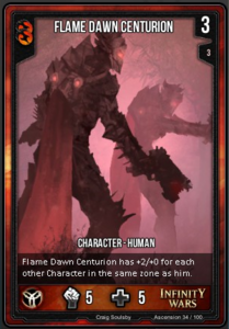 Flame Dawn Centurion