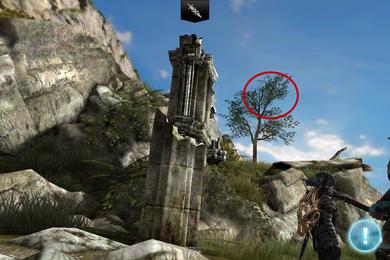 Worn Treasure Map Loc