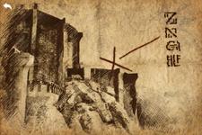 Old treasure map open