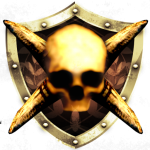 File:Skull crossed gold-150x150.png