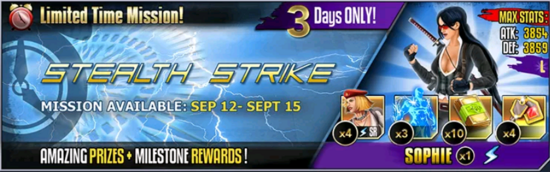 Stealth strike