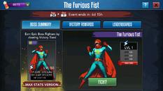 Furious fist screen