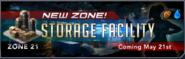 Storage facility banner