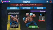 Berserker screen
