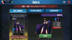 Valerie screen