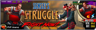 Sensei's Struggle