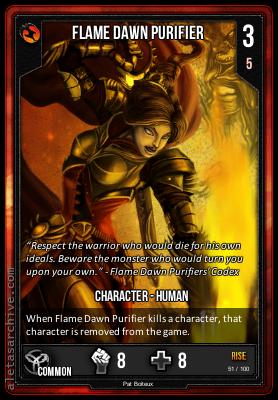 RISE FLAME DAWN PURIFIER