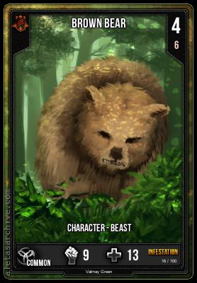 INFESTATION BROWN BEAR