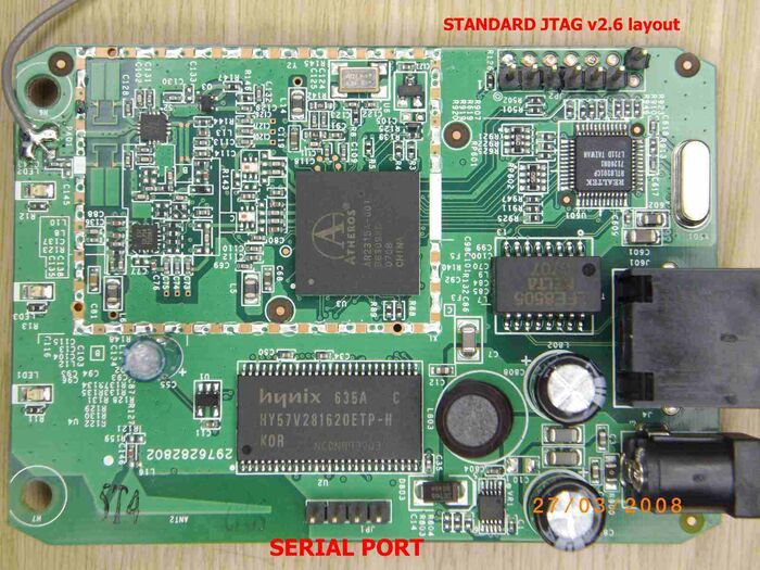 3-FONERA 2200A BOARD JTAG