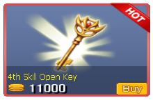 4th Skill Open Key