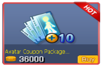 Avatar Coupon Package 10