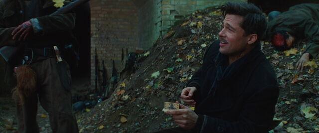 File:Aldo Raine sniffs some tobacco.jpg
