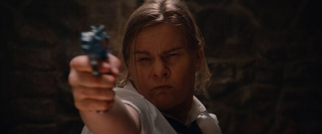 File:German female seargent Beethoven fires her Walther P38.jpg