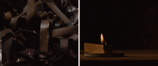 File:Film nitrate and paper burning.jpg
