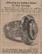 Emil Jannings Nazi ring