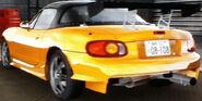 Omiya's Roadster (Back)