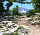 Steep Mountain Path