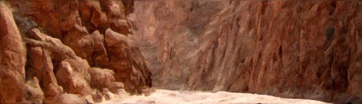 Sun Baked Canyon