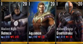 Superman Godfall standard challenge battle 5 match 9