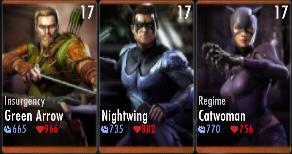 Superman Godfall standard challenge battle 2 match 7
