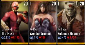 Superman Godfall standard challenge battle 5 match 10