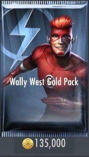 WallyWestGoldPack