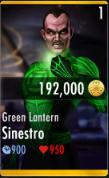 SinestroGreenLantern