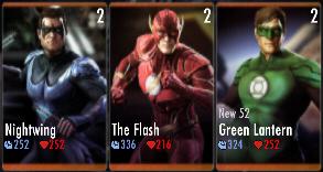 Superman Godfall standard challenge battle 1 match 2