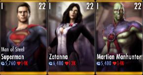 Superman Godfall standard challenge battle 5 match 12