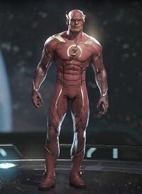 Flash - Scarlet Speedster