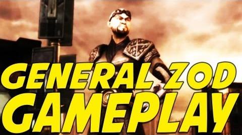General Zod DLC Gameplay Reveal - Injustice Gods Among Us