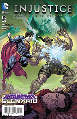 Injustice Gods Among Us Year Five Issue 10 Cover