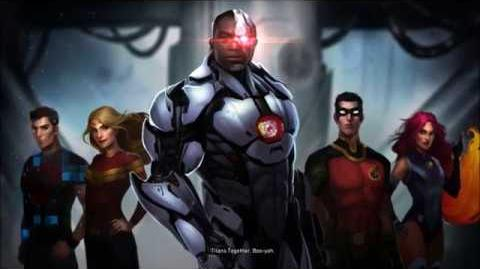 Injustice 2 Cyborg's Ending