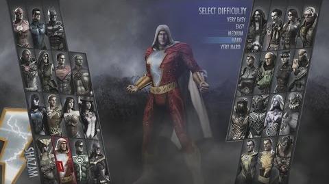 Injustice Gods Among Us - Shazam Playthrough (PS3)