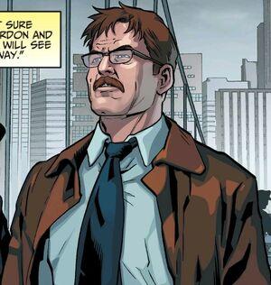 Commisoner Gordon Comic