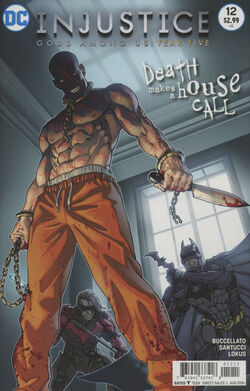 Injustice Gods Among Us Year Five Issue 12 Cover