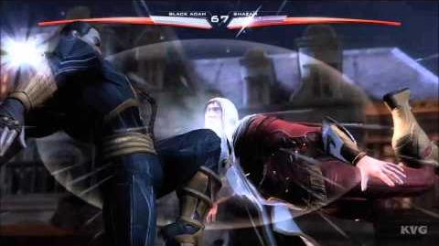 Black Adam - Injustice Gods Among Us - Special Move Teth-Adam HD