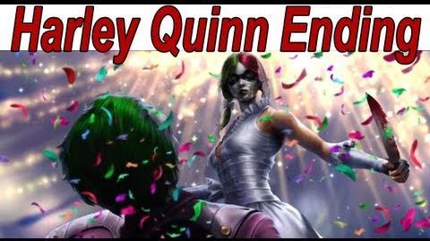 Injustice Gods Among Us - Harley Quinn Ending 【HD】