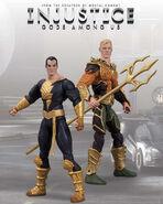 Black Adam and Aquaman