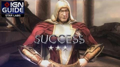 Injustice Gods Among Us - Get 3 Stars on All Shazam STAR Labs Missions - STAR Labs Part 5